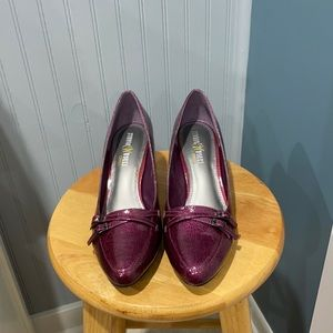 Studio Works Paulette Purple Pumps